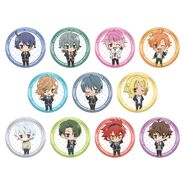 ACTORS -Songs Connection- Comiket Can Badges