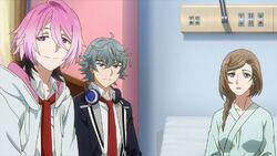 Nozomi telling Saku you can't stop smiling.jpg