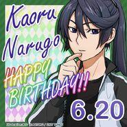 Kaoru Narugo Happy Birthday Card