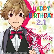 Happy Birthday Tamotsu Araki 2021