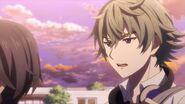 Sosuke asking Saku when Nozomi will be able to leave