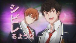 Hajime and Masaru appearing during INAZUMA SHOCK.jpg