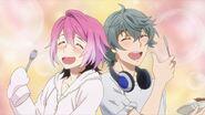 Sosuke and Uta in love with Saku's curry