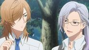 Tsukasa telling Mitsuki about the stones being a mystery