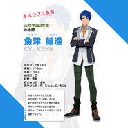 Hozumi Uozu Profile