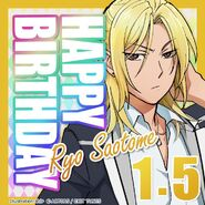 Happy Birthday Ryo Saotome Card