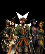 Caribbean Templars mercenaries