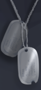Isabelle's dog tags