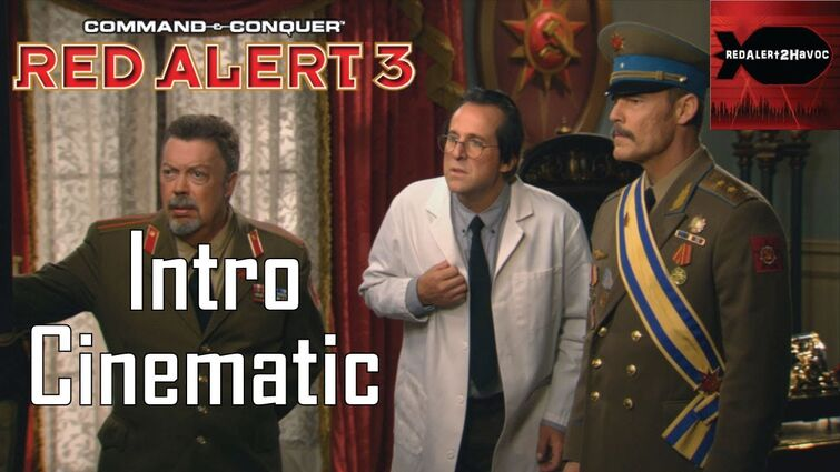 Command & Conquer: Red Alert 3: Intro Cinematic / Cutscene / FMV (Live-Action)