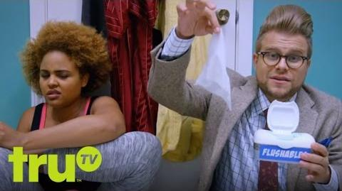 Adam Ruins Everything - Why Flushable Wipes Aren't Flushable