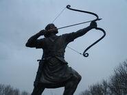 1280px-Arash Kamangir statue 2
