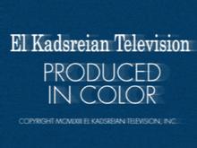 El Kadsreian Television (1963, Color, Neighbours Variant)