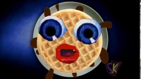 WaffleCake Playhouse Robot Logo