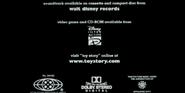 Disney Interactive Toy Story 1995 Ending Credits Logo