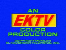 EKTV Color Endcap (1963, Neighbours)