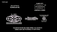 The Air Up There MPAA Credits