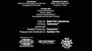 Billy Bathgate MPAA Card