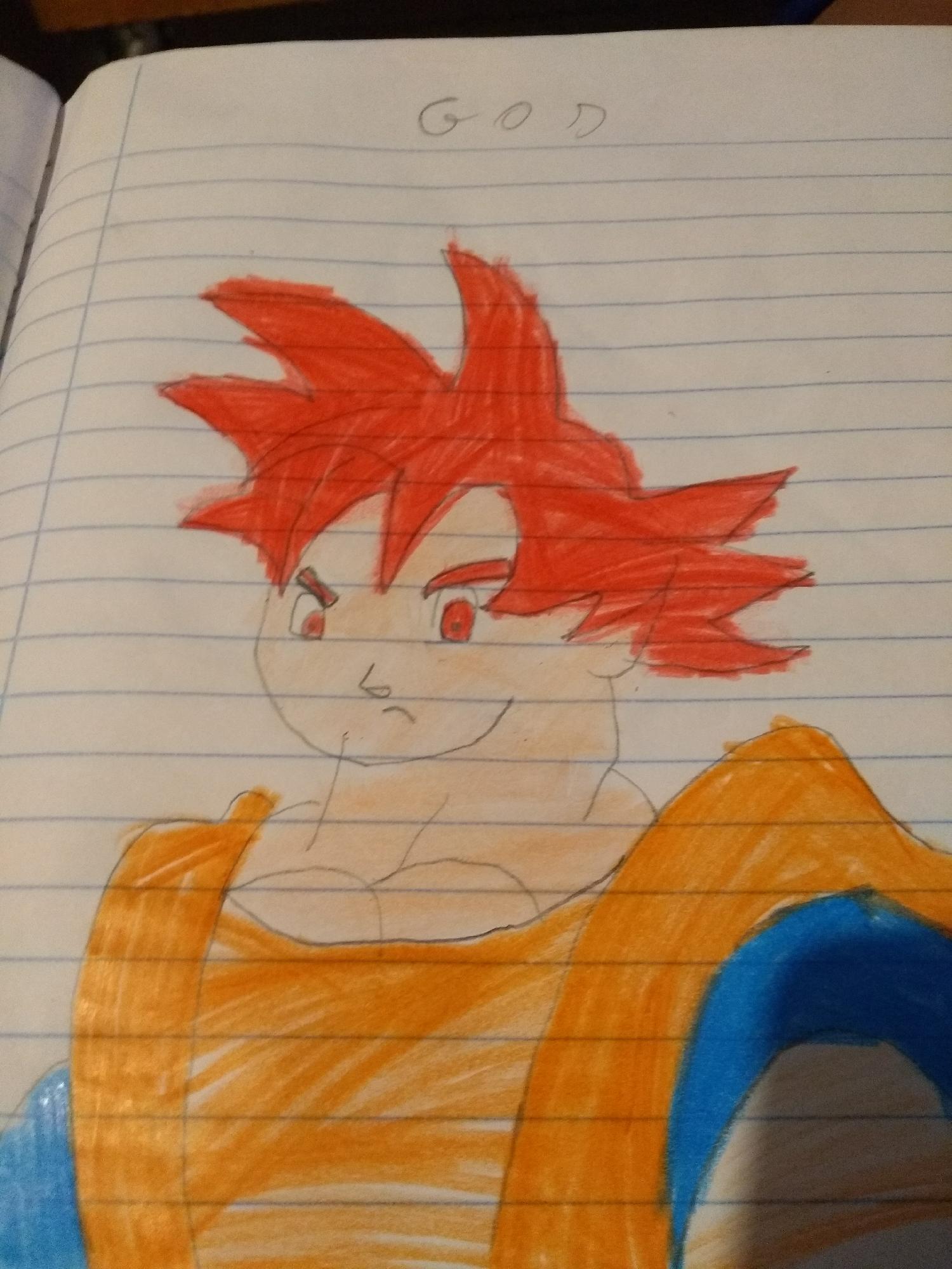 Super Saiyajin god