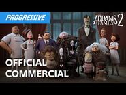 Flo Meets The Addams Family - Progressive Insurance Commercial