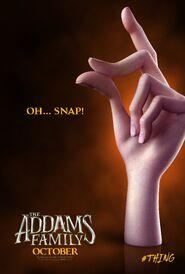 Семейка Аддамс (2019) - Постер (Вещь)