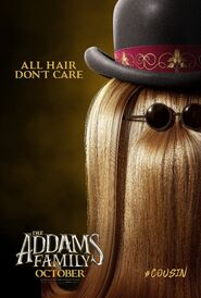 Семейка Аддамс (2019) - Постер (Кузен Итт)