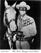 John Hart as the Lone Ranger