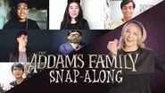 The ultimate Addams Family Snap-Along theme song feat
