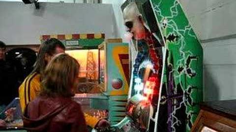 Shocking electric adams family game