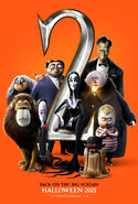 The Addams Family 2 (Family) Teaser Poster
