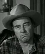 Richard Reeves in Wanted Dead Or Alive 1958