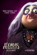 Семейка Аддамс (2019) - Постер (бабушка)
