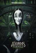 The Addams Family (2019) Morticia Poster