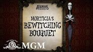 THE ADDAMS FAMILY DIY How To Make Morticia's Halloween Bouquet MGM