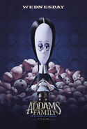 The Addams Family (2019) Wednesday Poster