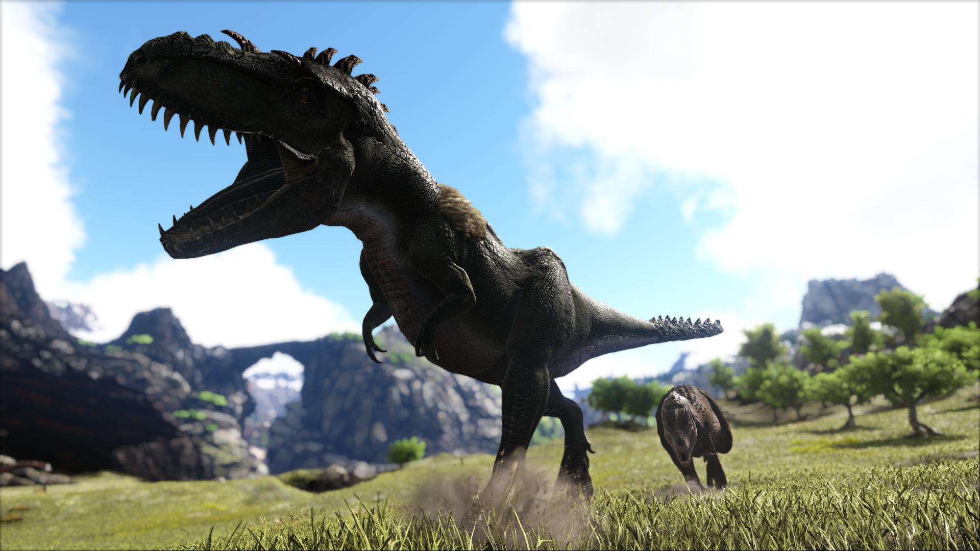 Daspletosaurus Additional Creatures Wiki Fandom Ark patch 257 die daeodon (wildschwein) sind mit den dire wolf die gefährlichste rudeltiere in ark. daspletosaurus additional creatures