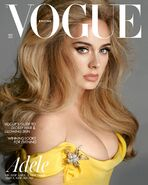 Adele Vogue UK Cover 2021