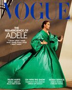 Adele Vogue US 2021 Cover