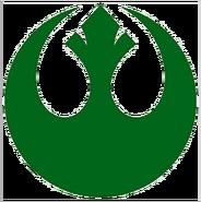 Green rebel logo transparent background