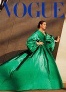 Adele Vogue US 2021 Cover no text