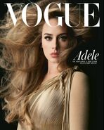 Adele Vogue UK Photoshoot 1
