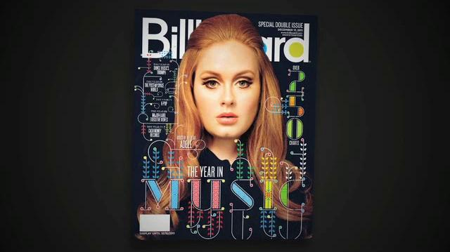 Adele - Year In Music 2011 Cover Evolution Billboard