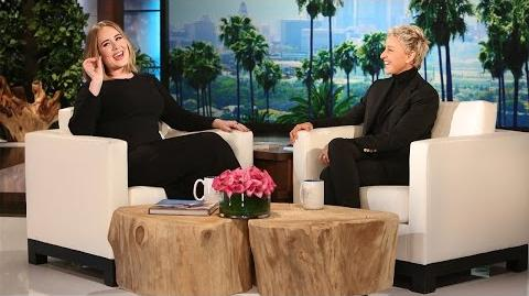 Adele Gets Candid with Ellen