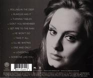 Adele 21 Back Cover
