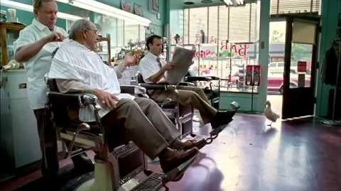 Aflac - Berra at the Barber (2002, USA)