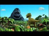 George Volcano and Tyrannosaurus Alan