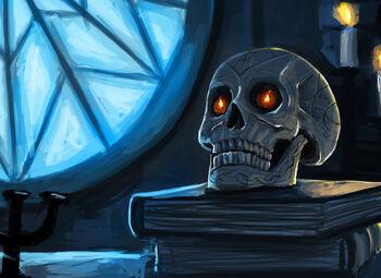 Bob the Skull, Ursuul's first profile picture