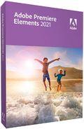 Adobe Premiere Elements 2021 box