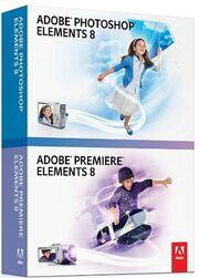 Adobe Photoshop Elements 8 & Adobe Premiere Elements 8 box.jpg