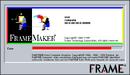 FrameMaker 5 Windows about screen