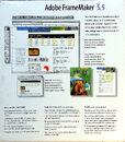Adobe FrameMaker 5.5 cover back